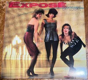 Expose: Exposure 🇺🇸 1987 LP NEAR MINT Vinyl Record ELECTRONIC DISCO R&B SOUL