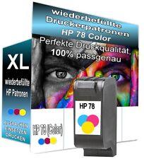 1x für HP 78 Druckerpatrone für Deskjet Officejet PSC Premium Qualität HP78 XL