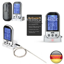 Funk Grillthermometer Display Braten BBQ Bratenthermometer Fleischthermometer DE