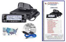 Icom IC-2730A VHF/UHF Mobile Radio w/ RT Systems Prog Kit and Nifty! Mini-Manual
