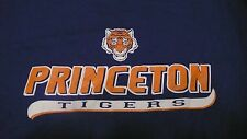 PRINCETON UNIVERSITY TIGERS XL BLUE T-SHIRT