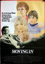 Moving In German movie poster Teri Garr, Peter Weller, Christopher Collet, Haim