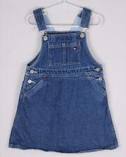 Vintage Tommy Hilfiger toddler girls jean dress jumper size 5