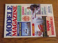 $$$ Revue Modele Magazine N°518 Plan encarte Hot DogAtlasRafaleDX-15