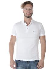 Emporio Armani Polo Shirt Cotton Man White 3Z1FL51JQYZ 100 Sz.S MAKE OFFER