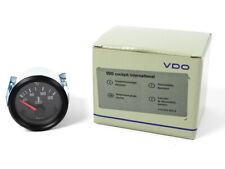 VDO Temperaturanzeige 52mm 310040002 Retro 24v 120c schwarz Temp anzeige
