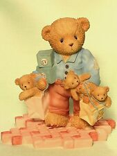 """CHERISHED TEDDIES ALLEN """"THE PERFECT MAN"""" BY ENESCO NEW"""
