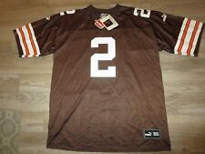 Tim Couch #2 Cleveland Browns Puma NFL Football Jersey XL Autograph Signed NEW