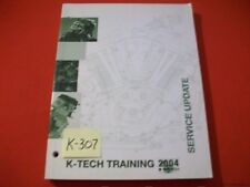 Kawasaki K-Tech Training Service Update Manual 2004 Atv Utv Mule Motorcycle +
