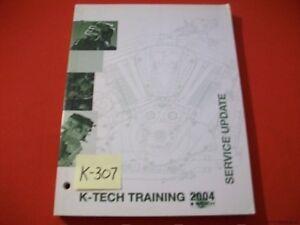 KAWASAKI K-TECH TRAINING SERVICE UPDATE MANUAL 2004 ATV UTV MULE MOTORCYCLE ++++