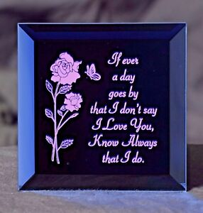 A Gift for your Wife or Sweetheart - A Keepsake Plaque for a Special Someone