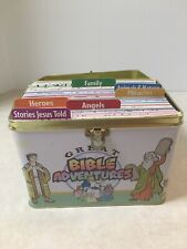 Great Bible Adventures +Tin case, Sunday School Lessons Homeschooling Coloring