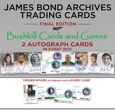 2017 James Bond Archives Final Edition Trading Cards Factory Sealed 12 Box Case