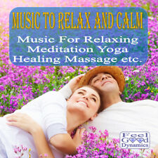 Music To Relax And Calm CD For Meditation, Yoga, Healing etc. NEW 2020 CD