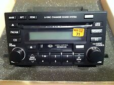 2004-2009 KIA SPORTAGE 6 Disc CD MP3 CASS Player Radio PART# 96170-1F100