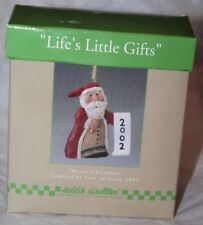 Midwest of Cannon Falls Eddie Walker Merry Christmas 2002 Life's Little Gifts