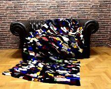 Luxury Real Rex Rabbit Throw Blanket