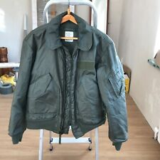 Alpha Industries CWU-45/P cold weather flight jacket, size Medium