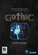 Gothic Universe - 1 + 2 + 3 + Addons - Gold - ENGLISH PC - DVD - ROM Neuware