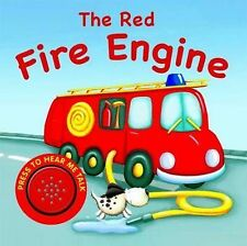 The Red Fire Engine by Bonnier Books Ltd (Novelty book, 2009)