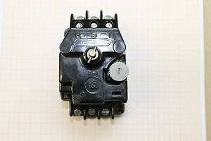 DDR Motorschutzschalter Strom einstellbar ESG TGL 16563 0,25A-16A #AS-B04 L10/11