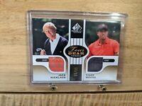 #35/35 Ebay 1/1 Tiger Woods Jack Nicklaus GAME USED Shirts 2012 Upper Deck SP