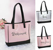 Bride Tote Bag Bridal Party Gifts for Wedding Day Handbags Accessories