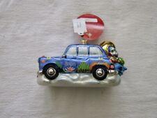 Christopher Radko Beatles Yellow Submarine Taxi 1019090 Nwt Beautiful Ornament!