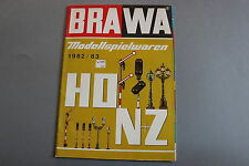 W977 BRAWA Train catalogue Ho N Z 1982 83 68 pages 29,7*21 cm Deutch container