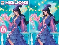 HELLIONS #12 EXCLUSIVE VARIANT SET NM PSYLOCKE WOLVERINE XMEN HELLFIRE CLUB GALA