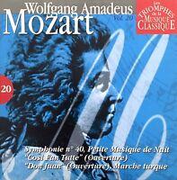 Compilation Les Triomphes De La Musique Classique CD Mozart - Vol.20 -