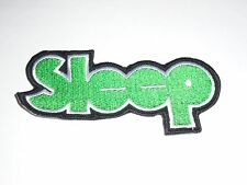 SLEEP STONER/DOOM METAL IRON ON EMBROIDERED PATCH