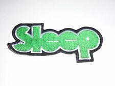 SLEEP STONER/DOOM METAL IRON ON EMBROIDERED PATCH