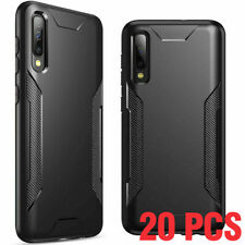 for Samsung Galaxy A50 Phone Case Poetic Slim Black Soft TPU Shockproof Cover