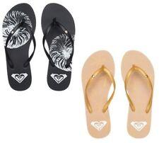 Sandali e scarpe nere ROXY per il mare da donna