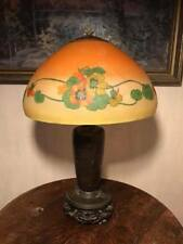 Signed Handel Reverse Painted Table Lamp
