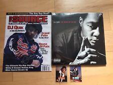 "DJ Quik Signed Poster & Cards + ""The Book Of David"" Vinyl Autograph 2Pac Snoop"