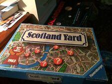 Scotland Yard Board Game Complete