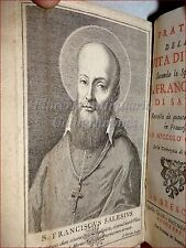 Niccolò CAUSINO, Pratica Vita Devota S. FRANCESCO DI SALES 1735 Brescia Tavole