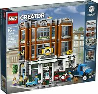 Lego Creator Expert 10264 Corner Garage 2569 Pieces New in Sealed Box Free Ship