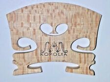 "'Korolia' RS Model Grandiose Level ''1"" Professional  3/4 Violin Bridge - 38MM"