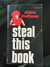Abbie Hoffman Steal This Book Signed First Edition 1971