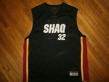 SHAQ 32 BASKETBALL JERSEY Shaquille O'Neal Dunkman Brand Sewn Stitched Black LG