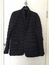 Moncler Genuino Pluma de Ganso luz hacia abajo acolchada chaqueta de abrigo chaqueta tamaño de 5 grandes