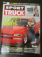 SPORT TRUCK MAGAZINE AUGUST 2002 FORD F-150 BODY MODS RAGTOP SUNROOF INSTALL