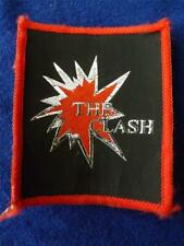 THE CLASH VINTAGE LOGO PATCH ROCK'N'ROLL BAND CLASSIC  FAN COLLECTOR BADGE