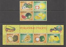 Philippine Stamps 2006 Philippine Fruits Complete set Mint Never hinged