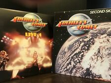 Kiss Ace Frehleys Comet Live +1 & Second Sighting LP Alive Record Play Tested