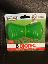 Outward Hound Bionic Bone Green S M Dog Chew Toy