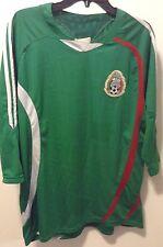 Federacion Mexicana de Futbol Green Jersey Mexico Soccer #4 VG